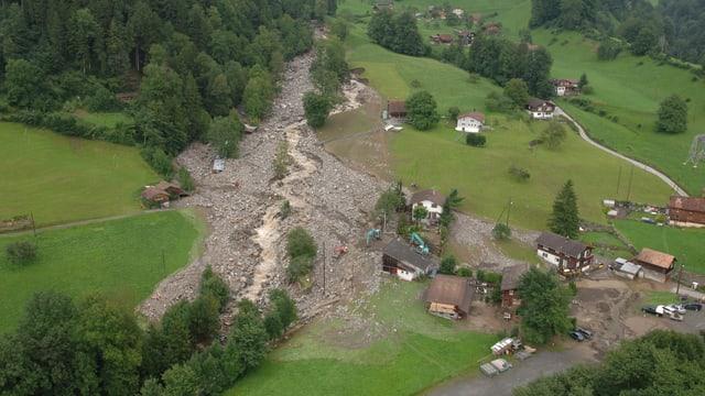 Das grosse Unwetter richtete im Jahr 2005 grosse Verwüstungen an.