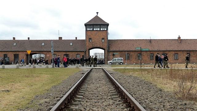 Eingangstor zum ehemaligen KZ Auschwitz