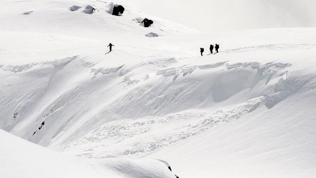 colonna d'agid sur ina lavina sin la Fiescheralp