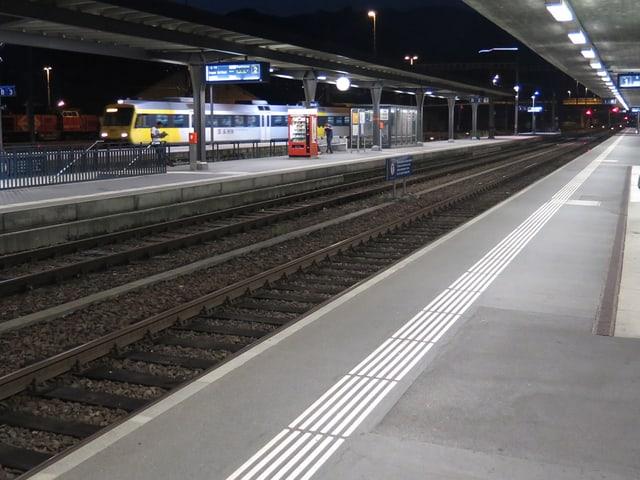 Bahnhof Buchs am Morgen