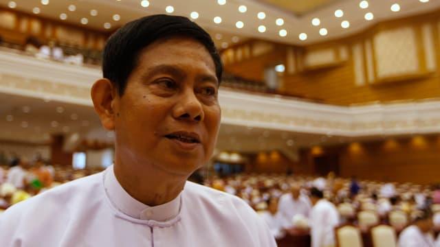 Accepta la terrada: Htay Oo, il parsura da la partida USDP.