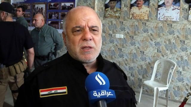 Der irakische Ministerpräsident Haidar al-Abadi.