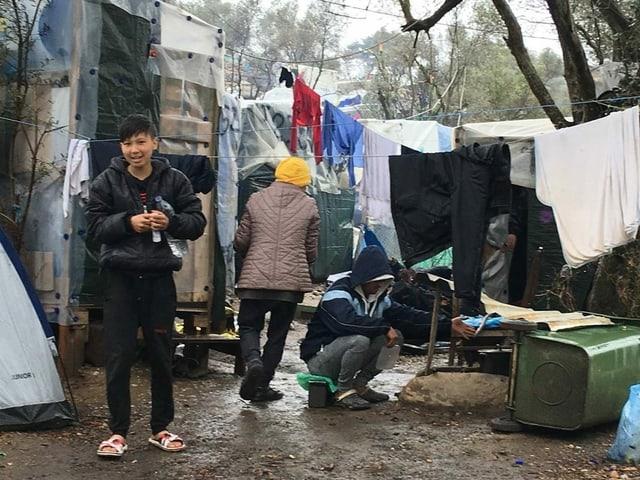 Bilder aus dem Camp