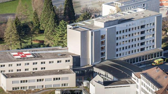 Das Urner Kantonsspital in Altdorf.