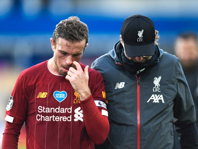 Hängende Köpfe: Liverpool kommt im Stadtderby nicht über ein 0:0 hinaus.