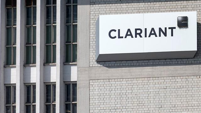 Purtret dal logo da Clariant.