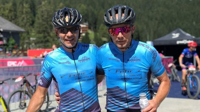 Sascha Deplazes e Markus Fehr.