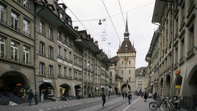 Die Altstadt von Bern.