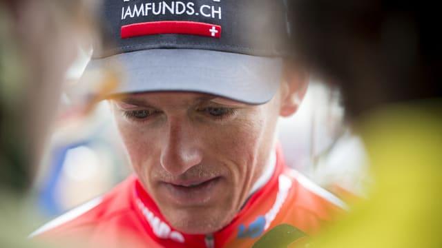 Mathias Frank, ciclist.