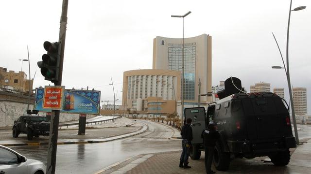 Blick auf das betroffene Hotel «Corinthia»