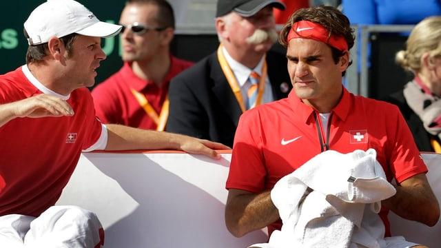 Die Schweizer Tennis-Fans werden sich auf weitere Auftritte Federer im Davis Cup gedulden müssen.
