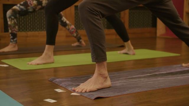 Yoga-Unterricht