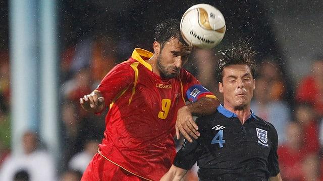 England und Montenegro trafen bereits in der EM-Quali 2012 aufeinander.