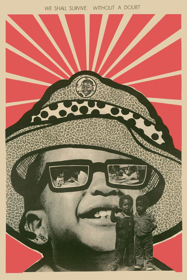 Emory Douglas: «We Shall Survive without a doubt», Cover vom 21. August 1971.