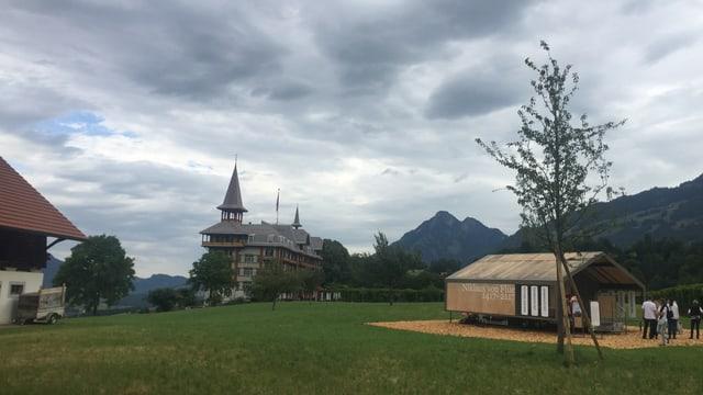 Die Tour des Pavillons startet am 28. Juni in Flüeli-Ranft, dem Geburtsort von Bruder Klaus.