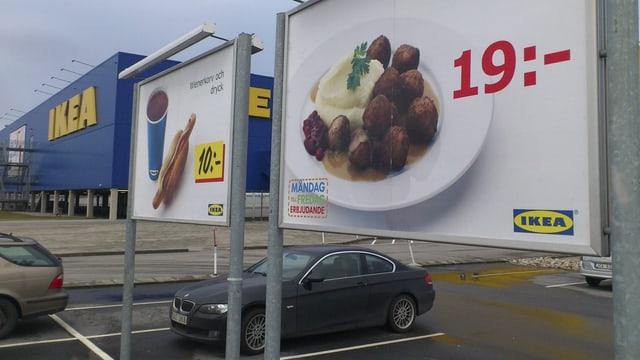 Plakat Köttbullar und Kartoffelstock