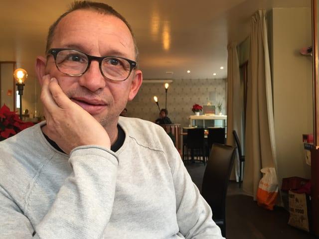 Philipp Galizia, Kulturschaffender und Steinhauer aus Muri.