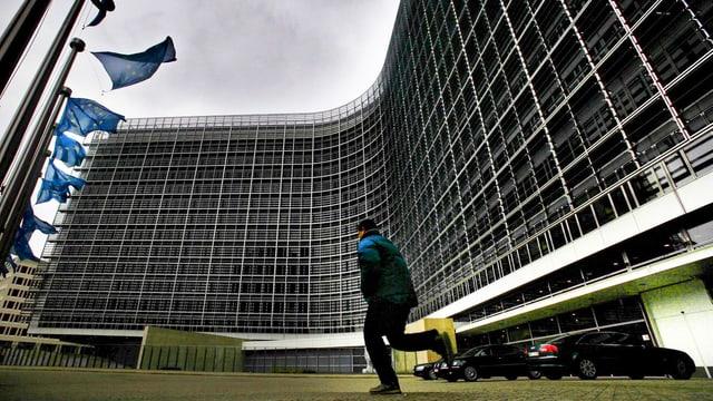 Gebäude der EU-Kommission