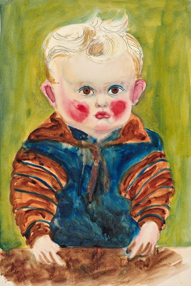 Porträt eines Kleinkindes. Foto: Mick Vincenz © Kunst- und Ausstellungshalle der Bundesrepublik Deutschland GmbH