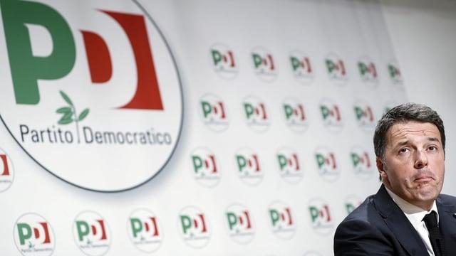 Matteo Renzi am 5. März.