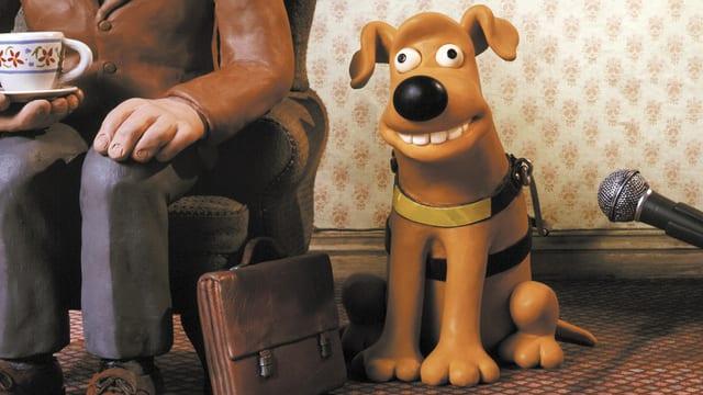 Knetfiguren-Hund