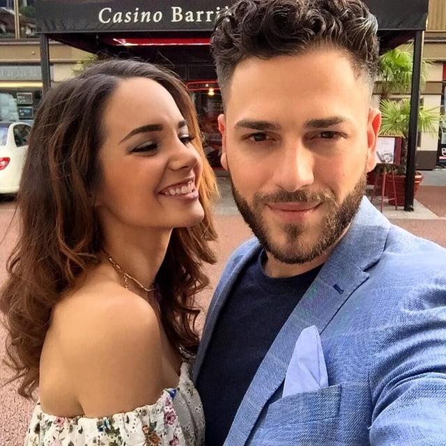 Laetitia Guarino und ihr Freund Stefano Iodice