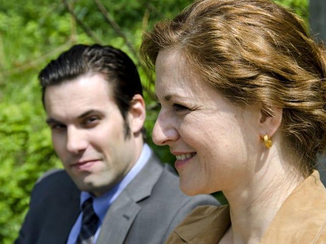 Mann und Frau.