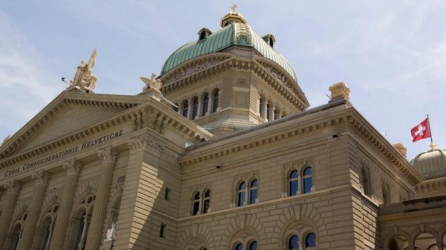 Aufnahme des Bundeshauses in Bern.