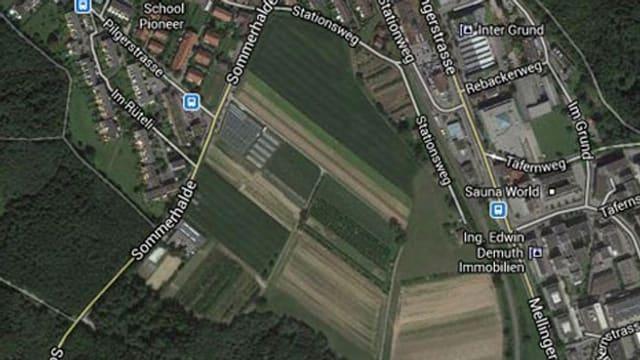 Satellitenbild vom «Galgenbuck»