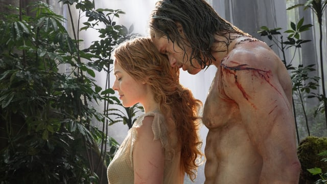 Margot Robbie und Alexander Skarsgård in «The Legend of Tarzan».