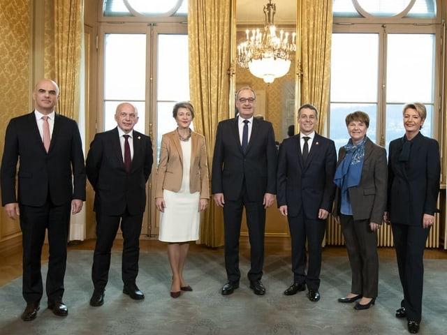Der neue Bundesrat