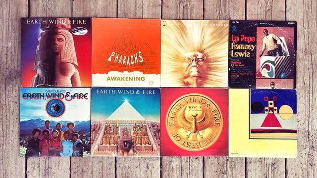 Schallplatten Covers