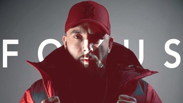Portrait des Rappers