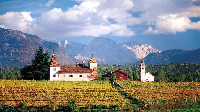 Eppan en il Tirol dal Sid.