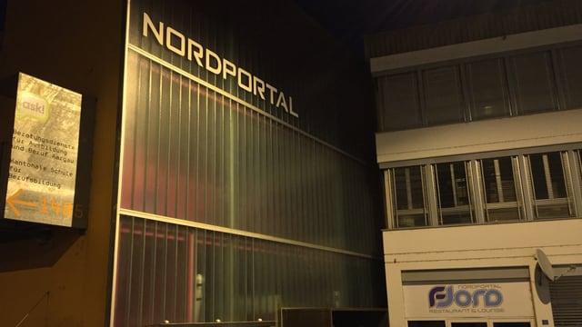 Gebäude mit Aufschrift Nordportal.
