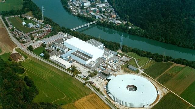 Das Paul Scherrer Institut (PSI) in Villigen sei ein idealer Netzwerkstandort für den Innovationspark Schweiz.