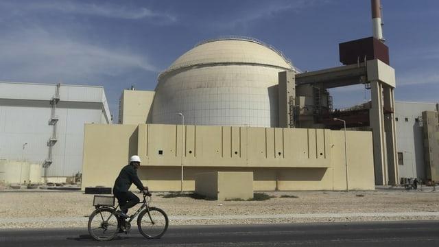 Iranisches Atomkraftwerk Bushehr.