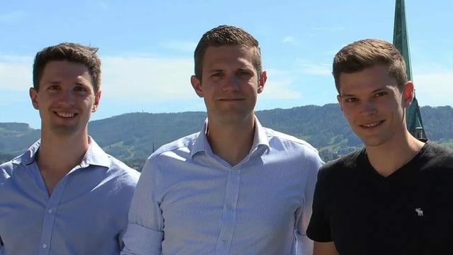 Die drei Brüder aus Zufikon