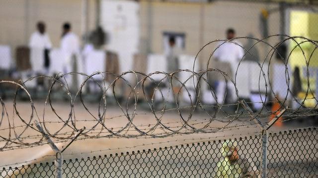 Das Gefängnis Guantánamo.