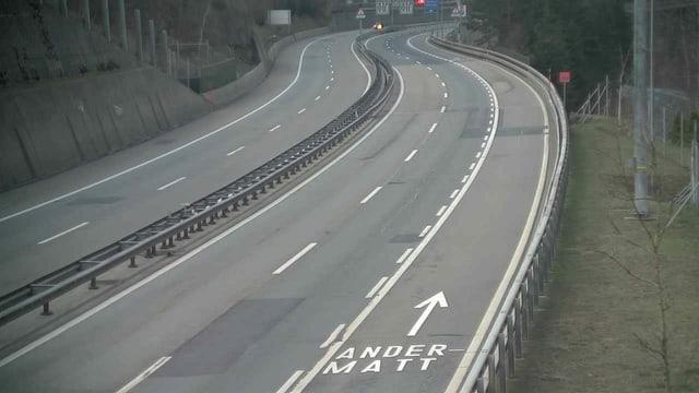 Webcam al portal dal nord dal Gottard (10:20)