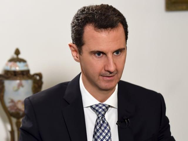 Bild vom syrischen Präsidenten Bashar al-Assad