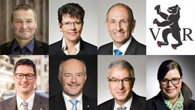 Die sieben Regierungsratskandidaten in Ausserrhoden