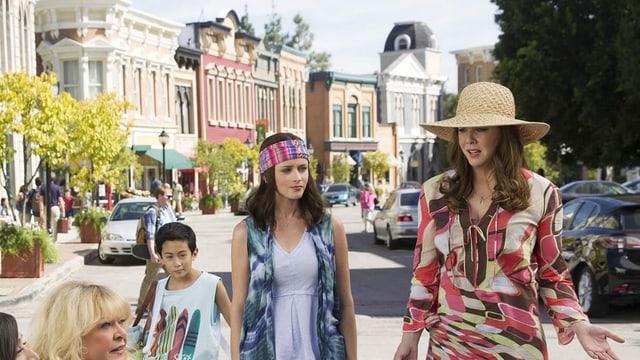Die WB-Serie «Gilmore Girls» ist verfügbar bei Netflix und als VOD bei diversen Anbietern.