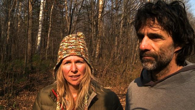Andrea Pfeuti und Reno Sommerhalder