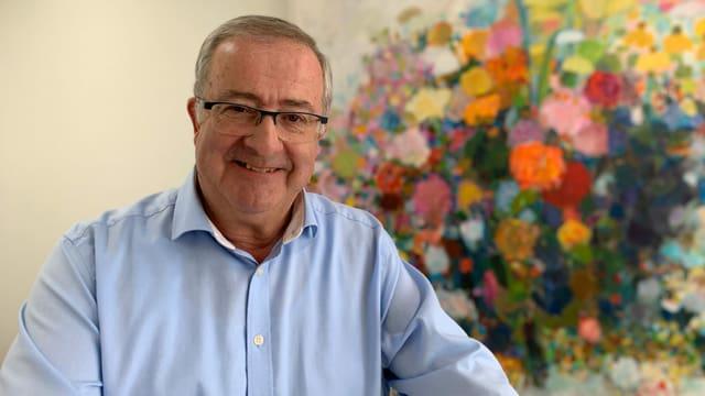 Theo Leuthold (SVP) Gemeindepräsident von Horgen