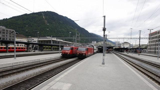Vier Kantone und die SBB setzen auf Bahnausbau. Bis 2030 soll eine Millarde Franken investiert werden.