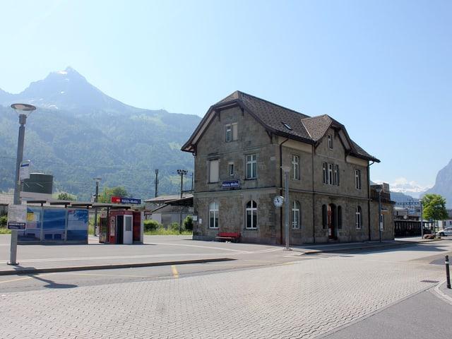 Bahnhof Näfels.