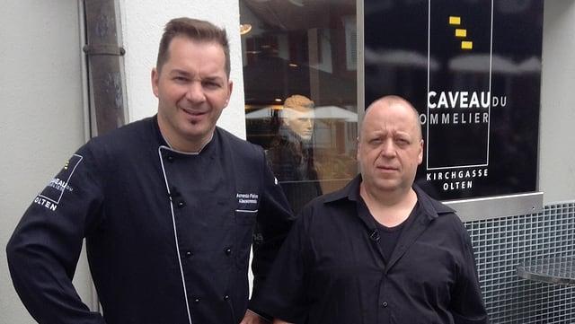 Video «Solothurn - Tag 2 - Restaurant Caveau du Sommelier» abspielen
