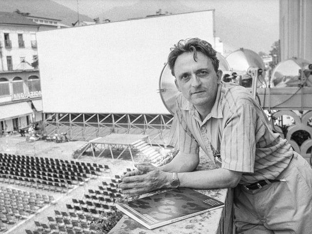 David Streiff, 1981-1991 Direktor des Filmfestival Locarno.
