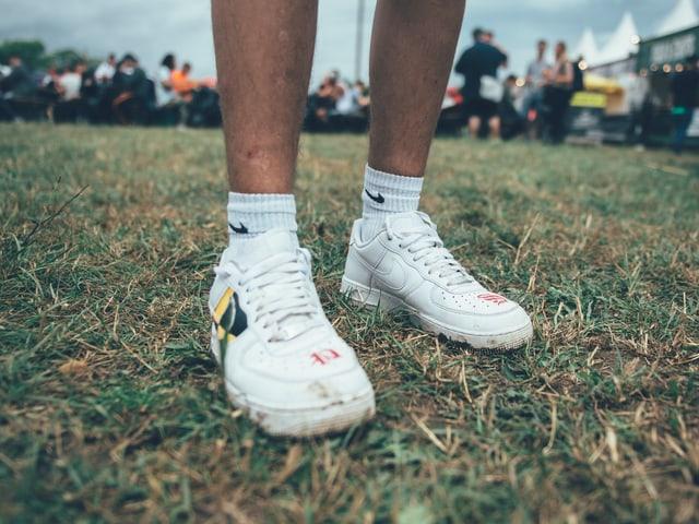 noch saubere Sneakers